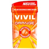 VIVIL Orange Minidragees ohne Zucker 49 g