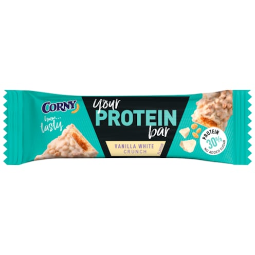 CORNY Your Protein Bar Vanilla White Crunch 45 g