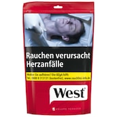 West Red Volume Tobacco Zip-Bag 150 g