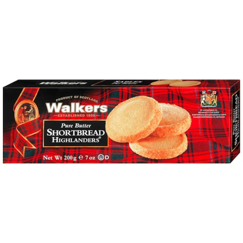 Walkers Shortbread Highlanders 200 g