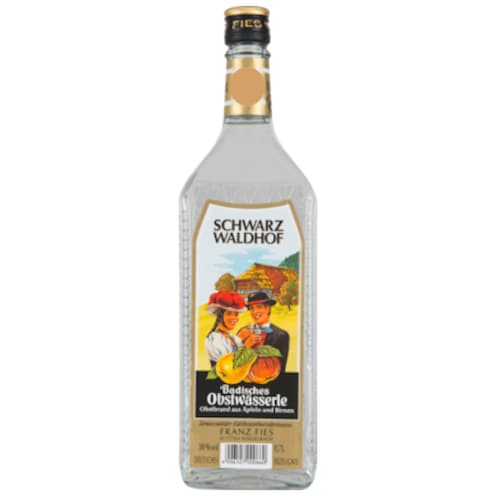 Franz Fies Badisches Obstwasser 38 % vol. 0,7 l