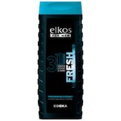 elkos FOR MEN Duschgel MEN 3IN1 Fresh 300 ml