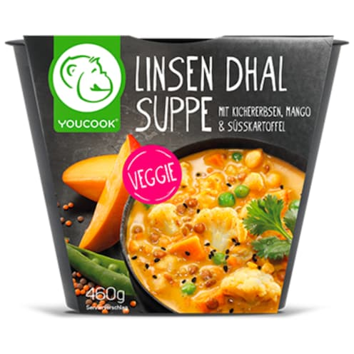 YOUCOOK Linsen Dhal Suppe 460 g