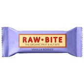Raw Bite Bio Vanilla Berry Riegel 50 g