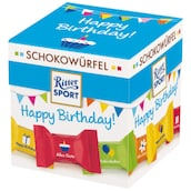 Ritter SPORT Schokowürfel Happy Birthday! 176 g