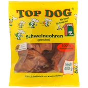 Top Dog Schweineohren 400g