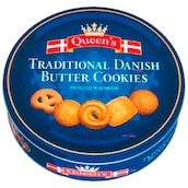 Queen's Traditional Danish Buttercookies 500 g