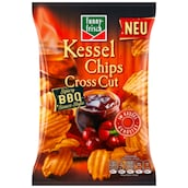funny-frisch Kessel Chips Cross Cut Chips Spicy BBQ Sauce 120 g