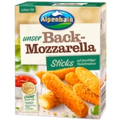 Alpenhain Back-Mozzarella Sticks 44 % Fett i. Tr. 200 g