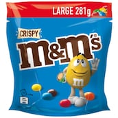 M&M's Crispy Large 281 g