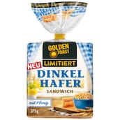 Golden Toast Dinkel Hafer Sandwich 375 g