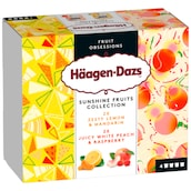 Häagen-Dazs Sunshine Fruits Collection Eiscreme 4 x 95 ml