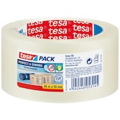 tesa tesapack® Perfect & Strong transparent 66 m x 50 mm