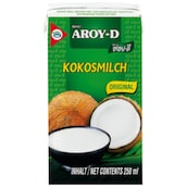 Aroy-D Coconut Milk 100 % 250 ml