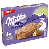 Milka Chocolate Hazelnut Eis 4 x 100 ml