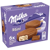 Milka MINI Stieleis 6  x 50 ml