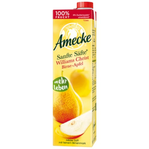 Amecke Sanfte Säfte Williams Christ Birne-Apfel 1 l