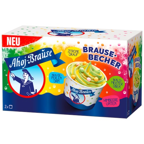 Ahoj-Brause Brausebecher 2 x 140 ml