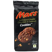 Mars Soft Baked Double Chocolate & Caramel Cookies 162 g