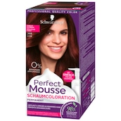 Perfect Mousse Permanente Schaumcoloration 388 dunkles rotbraun Stufe 3 93 ml