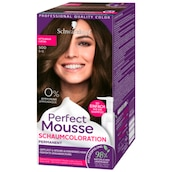 Perfect Mousse Permanente Schaumcoloration 500 mittelbraun Stufe 3 93 ml