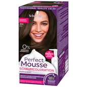 Perfect Mousse Permanente Schaumcoloration 400 dunkelbraun Stufe 3 93 ml