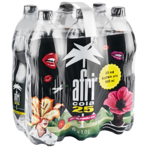 afri cola 25 Limonade - 6-Pack 6 x 1 l
