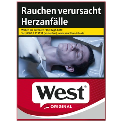 West Original Red Zigaretten