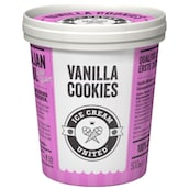 Ice Cream United Milcheis Vanilla Cookies 500 ml