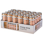 effect Energy Drink Zero - 24-Pack 24 x 0,33 l