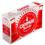 CAMPARI Soda 10 % vol. 5 x 98 ml