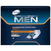Tena Men Discreet Protection Super Einlagen 8 Stück