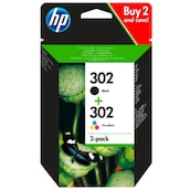 HP Tintenpatrone Nr.302 black 2er Pack