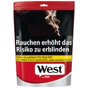 West Red Volume Tobacco Zip-Bag 134 g
