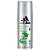 adidas 6 in 1 Cool & Dry Men Anti-Transpirant Deospray 150 ml