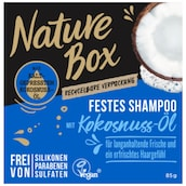 Nature Box Festes Shampoo Kokosnuss-Öl 85 g
