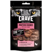 Crave Protein Chunks mit Lachs 55 g