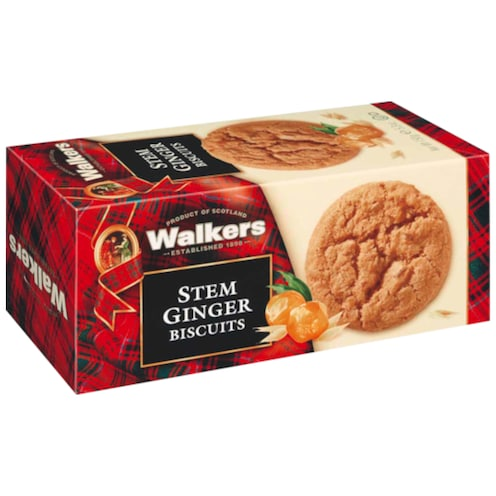 Walkers Stem Ginger Biscuits 150 g