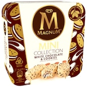 MAGNUM Mini Collection White Chocolate & Cookies 6 Stück