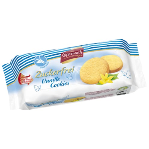 Coppenrath Feingebäck Vanille Cookies Zuckerfrei 200 g