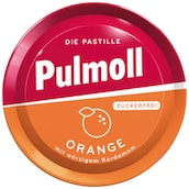 Pulmoll Pastillen Orange Zuckerfrei 50 g