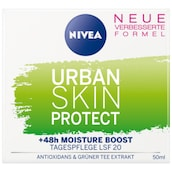 NIVEA Essentials Urban Skin Protect Tagespflege LSF 20 50 ml