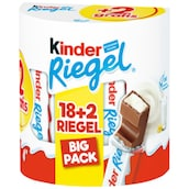 Ferrero kinder Riegel Big Pack 18 + 2 Stück