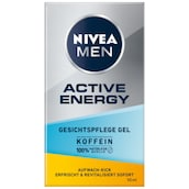 NIVEA MEN Active Energy Gesichtspflege Gel 50 ml