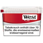 West Red Volume Tobacco Box 170 g