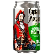 Captain Morgan White Rum Mojito 10 % vol. 0,33 l