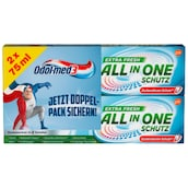 Odol-med3 All in One Extra Fresh Zahncreme 2 x 75 ml