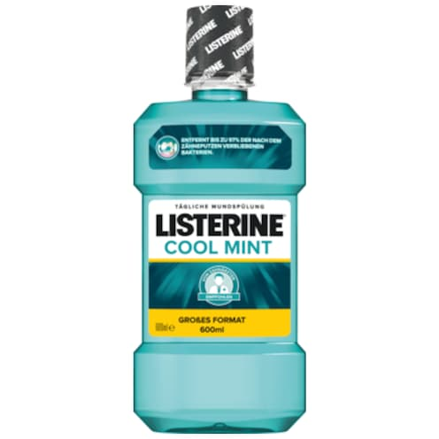 LISTERINE Mundspülung Coolmint 600 ml