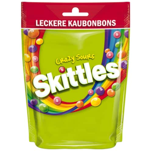 SKITTLES Crazy Sours 160 g