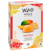 WAO Mochi Ice Cream Mango 6 x 36 ml